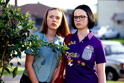 Johansson & Birch in Ghost World